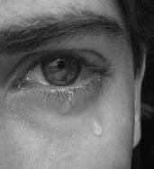 Δάκρυ σέ γαλάζιαν ἀπόχρωσιν